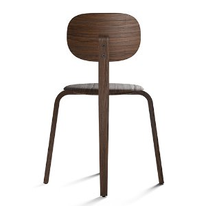 Afteroom Plywood Dining Chair Dark Stained Oak 현 재고