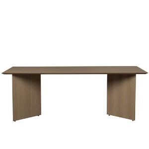 Mingle Table Top Dark Veneer Rectangular 210x90cm