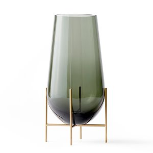 Échasse Vase Large Smoke/Brushed Brass  현 재고