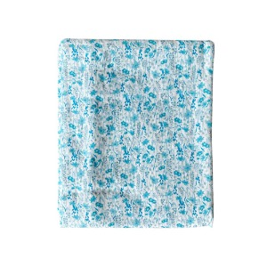 Duvet Cover 100x140cm Blue Flower