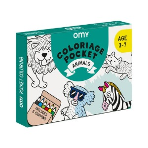 Coloring Pocket Animals