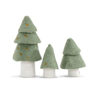 Christmas Tree Set of 3 Tender Green