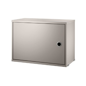 Cabinet with Swing Door Beige  현 재고