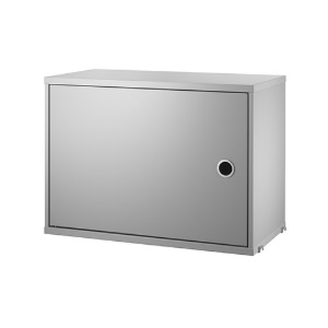 Cabinet with Swing Door Grey