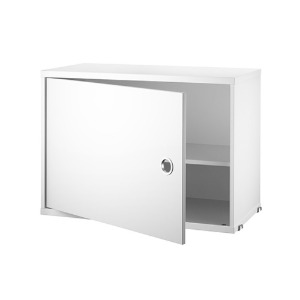 Cabinet with Swing Door White  현 재고