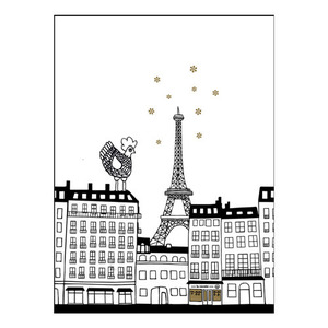 Tea towel - La Cocotte Paris (50% sale)