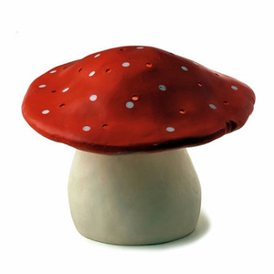 Big Mushroom Lamp -Red
