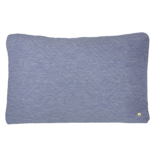 Quilt Cushion Light Blue 60x40  (30% sale)