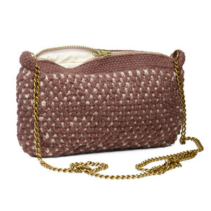 Helen Chain Bag Mix Velvet / Camel