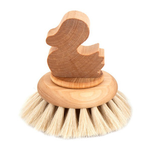Round Bath Brush Duck
