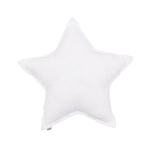 Star Cushion White Small