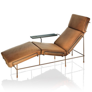Traffic Chaise Longue Brown