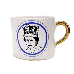 Alice Medium Coffee Cup Queen Elisabeth II 4월말 입고예정