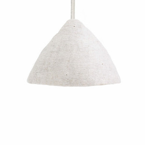 Lampshade S Natural / Light stone