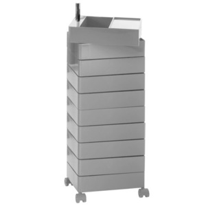 360° Container 10 Drawers Grey