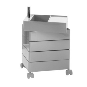 360° Container 5 Drawers Grey