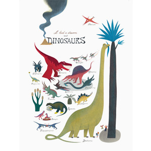 I have a dream about Dinosaurs 50x70cm