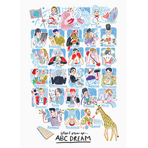 ABC Dream 50x70cm