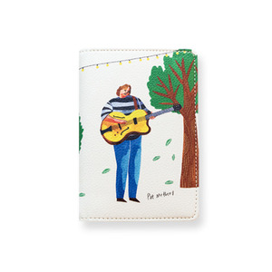 Guitarist Passport Wallet