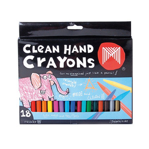 Clean Hand Crayons 18s