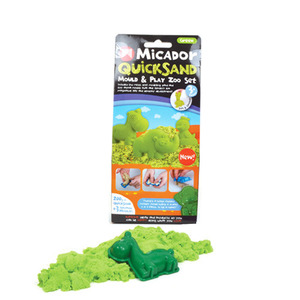 QuickSand Mould & Play Set Green