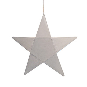 Star Lantern Silver Grey Small (50% sale)