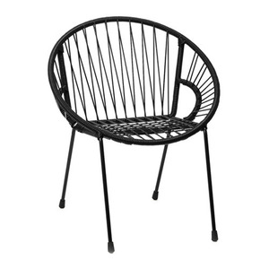 Tica Kid Armchair Black