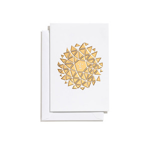 Greeting Card Small New Sun