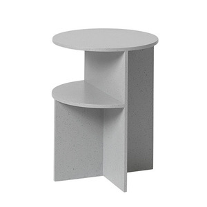 Halves Side Table Light Grey
