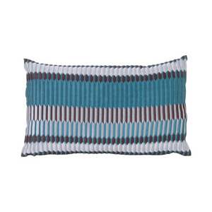 Salon Cushion Pleat Sea 40x25cm