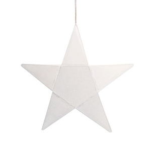 Star Lantern White Small (50% sale)