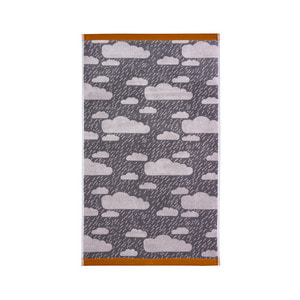 Rainy Day Hand Towel Grey