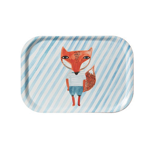 Fox Stripe Mini Tray