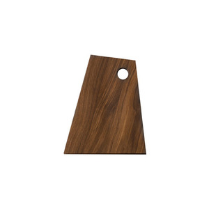 Asymmetric Cutting Board Smoked Small