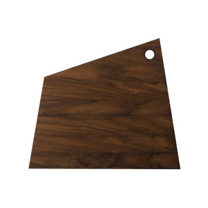Asymmetric Cutting Board Smoked Large