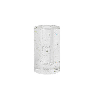Bubble Glass Object Cylinder