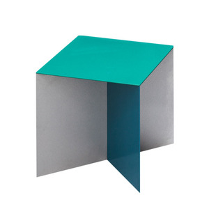 Alu Square Top Hammerpaint Green