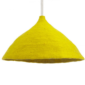 Lampshade W Sulfur Flower/Lemon Grass