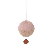 Ball Knitted Music Mobile Rose