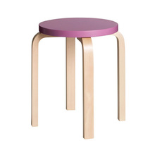 Stool E60 Purple/Birch