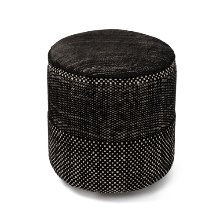 Tres Persian Pouf Black  재고문의