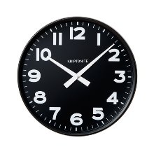 Wall Clock Black 30cm