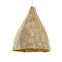 Reversible lampshade H Light Stone/Pollen