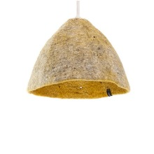 Reversible lampshade S Light Stone/Pollen