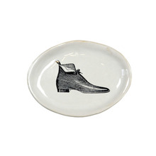 Alice Very Small Oval Plate Shoe