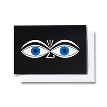 Greeting Card Medium Eyes
