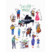 Let's Play Music 50x70cm