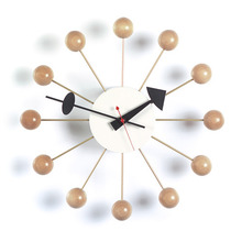 Ball Clock Natural