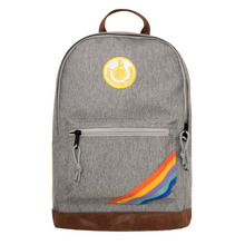 Backback Retro Sport Gris Band Rainbow