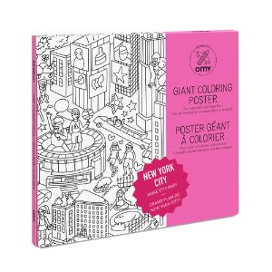 Giant Coloring Poster - New Yock City